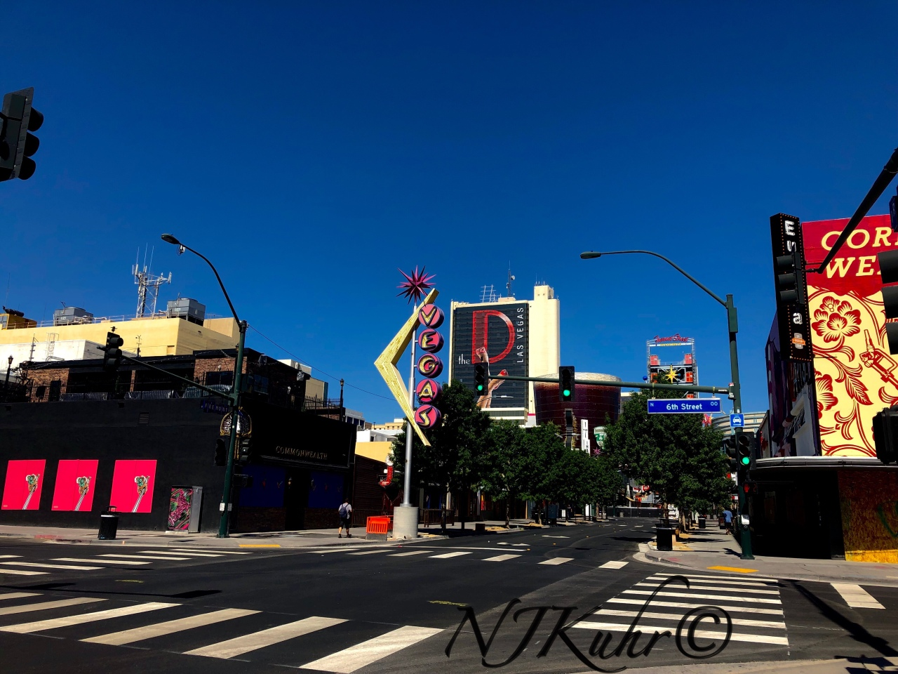 A Desolate Fremont Street East