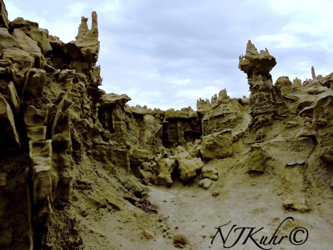 Fantasy Canyon CastleFormation